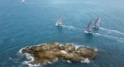 Aerial view of the Fleet on Day 5 - Photo credit Andrea Francolini