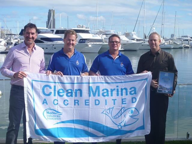 Clean Marina Accreditation for SYC
