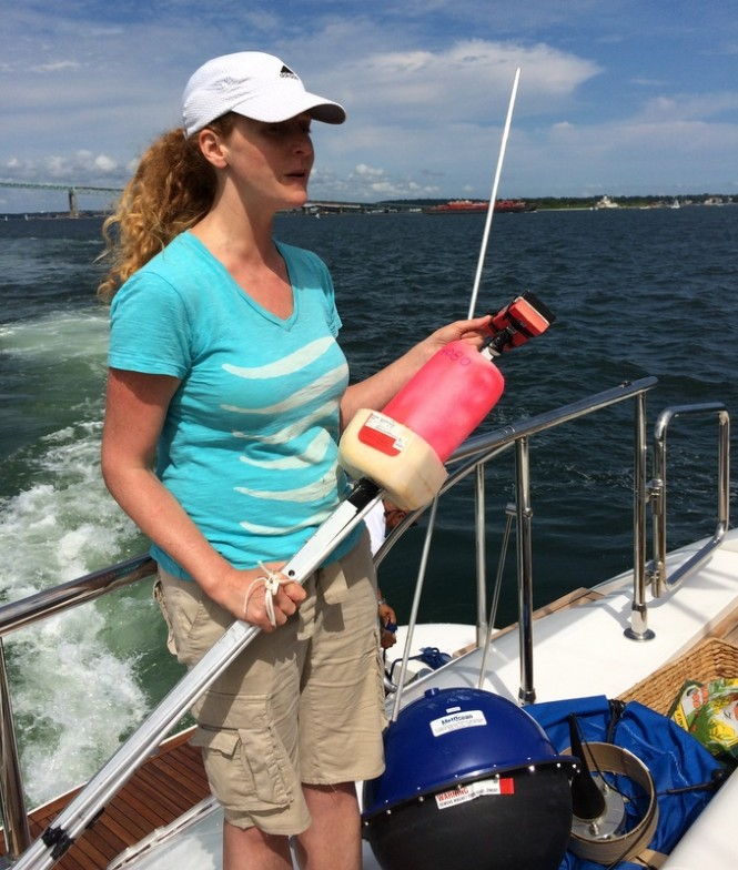 DISCOVERY Yachts member and Co-Owner and Founder of Global Oceans, Claudia Potamkin