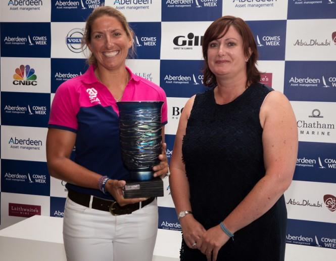 Dee Caffari - Winner of the 2014 Ladies Day Trophy