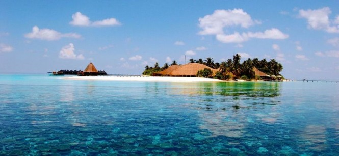 Fantastic Maldives yacht charter destination in the Indian Ocean
