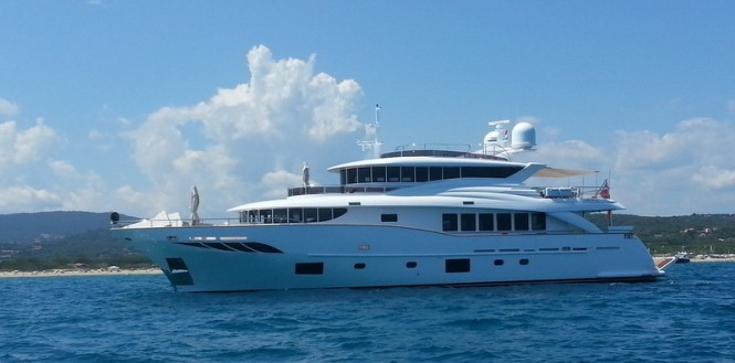 First Filippetti Navetta 30 super yacht Gatsby