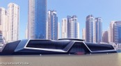 Floating Restaurant in Dubai created by Sunreef Yachts