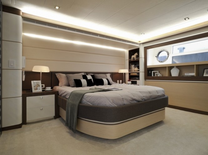 Horizon V80 Yacht The One - Cabin