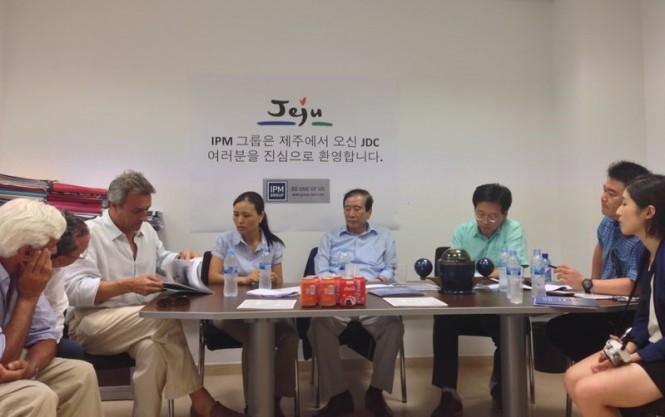 JDC delegation at IMP Group