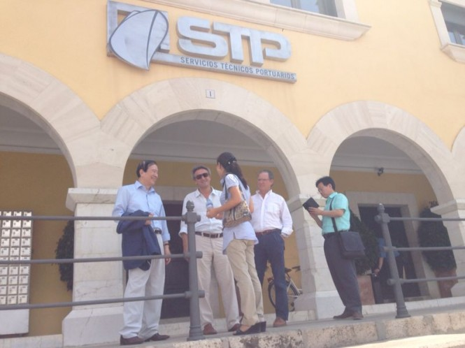 JDC delegation at IPM Group's STP Shipyard