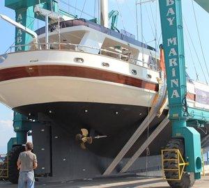 KRM Yacht completes refit of motorsailer yacht SEA BEAUTY