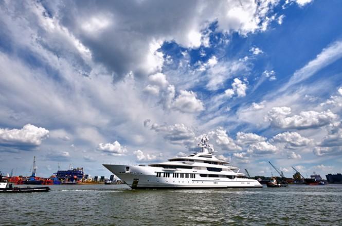 Luxury motor yacht Y710 by Oceanco