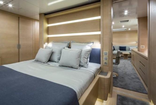 Luxury yacht WinWin - Cabin