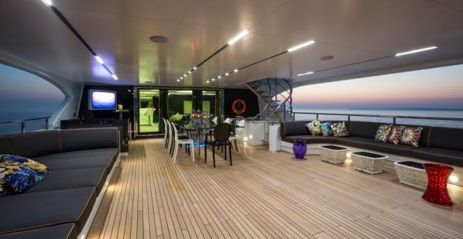 Motor yacht Ocean Paradise - Upper Deck