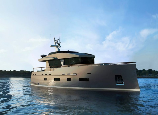New motor yacht Bering 70 by Bering Yachts