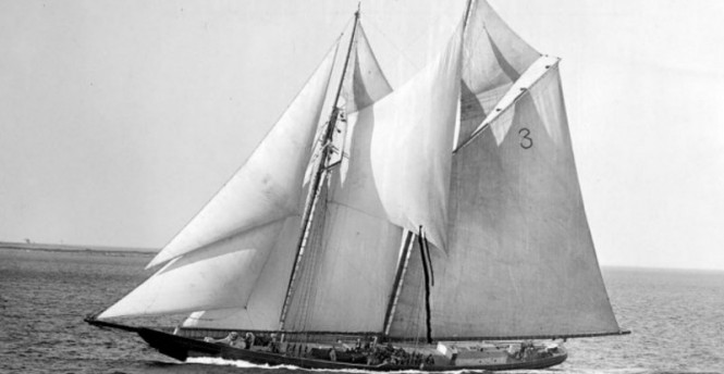 Original COLUMBIA Yacht launched in 1927