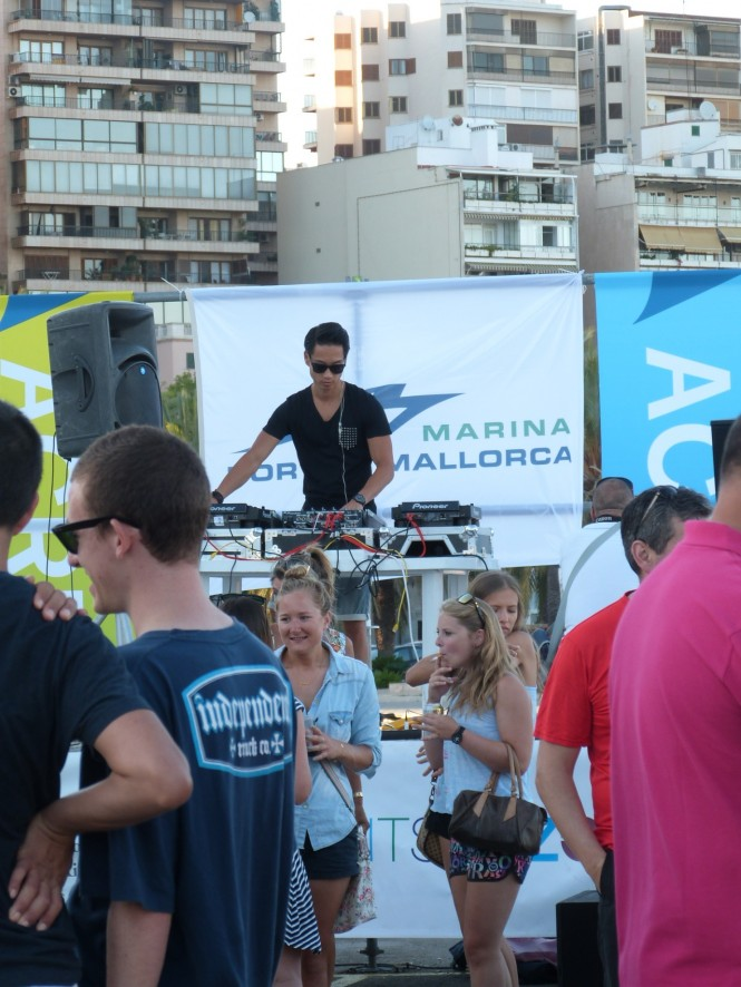 Party organized by Marina Port de Mallorca and Acrew