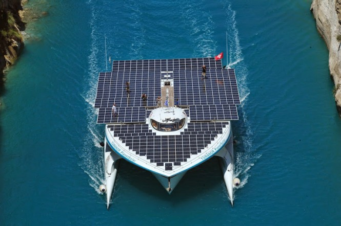 PlanetSolar from above