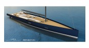 Rendering of Baltic 130 Custom Yacht