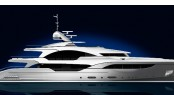 Rendering of the 48m Dorries Yacht