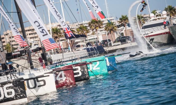 Royal Cup at Marina Ibiza - Photo by Xaume Olleros 52 Super Series