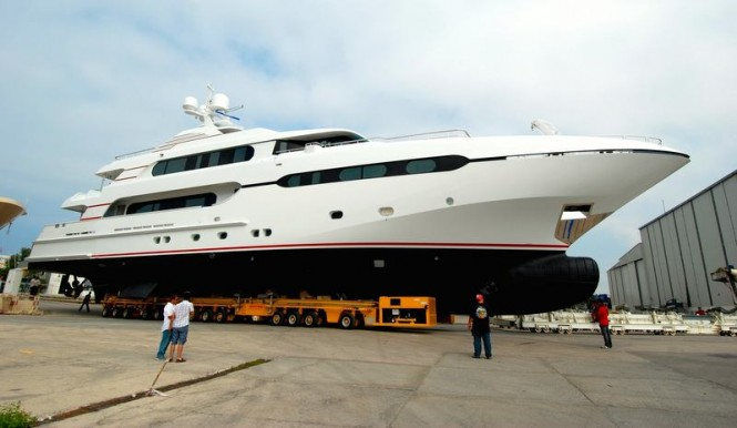 Second Sunrise 45m super yacht Project Sunset (Hull no. 182)