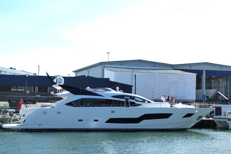 Sunseeker France also delivered the second 101 Sport Yacht