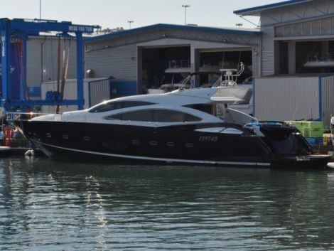 Sunseeker London also confirmed the sale of this Predator 92S, which has undergone a full interior refit to the owner's taste