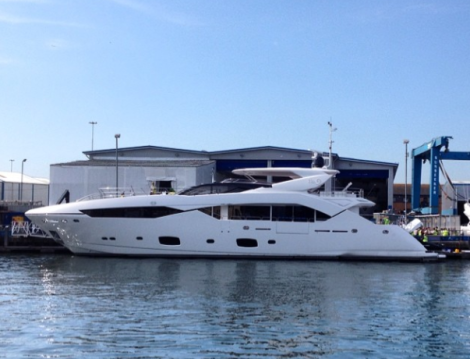 "Sunseeker London has announced the sale and completion of the 115 Sport Yacht ""NO 9″"