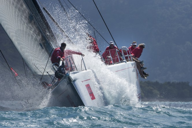Superyacht Wild Oats XI on final day_credit Andrea Francolini