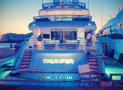 THUMPER Yacht boasts some never-seen-before features on a Sunseeker, with interior and deck customisations