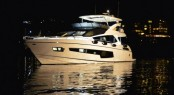 The Sunseeker 75 Yacht FINEZZA was the star of the Sunset in Corfu event