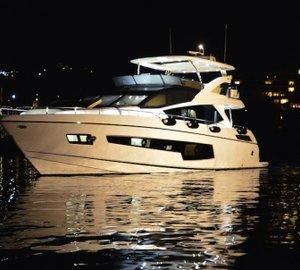 Sunseeker Hellas celebrate launch of new 'Sunseeker 75 Yacht' motor yacht FINEZZA