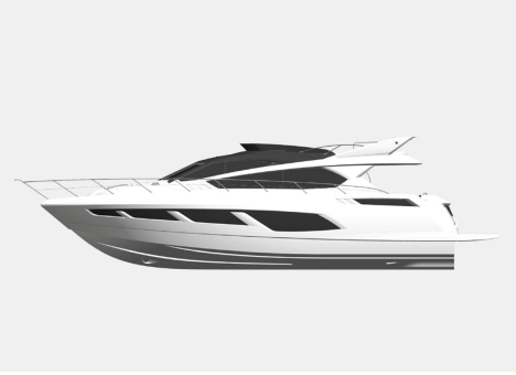 The brand new Sunseeker yacht Manhattan 65 will make her debut at the 2014 Southampton Boat Show