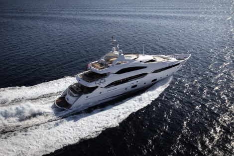 The sale marks the largest Sunseeker superyacht to be sold into the Maltese territory