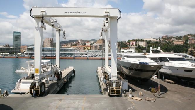 WService Shipyard in Savona