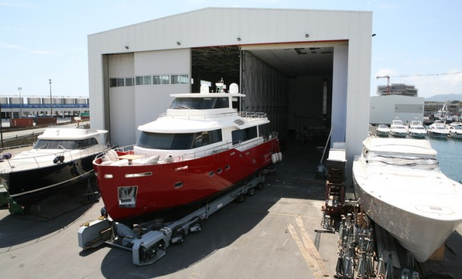 WService Shipyard in Savona, Italy