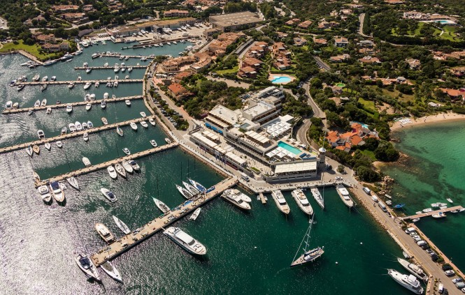 Yacht Club Costa Smeralda - Photo by Jeff Brown