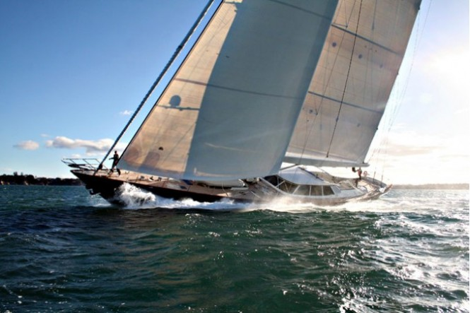 Yacht INMOCEAN - Image Courtesy Fitzroy Yachts