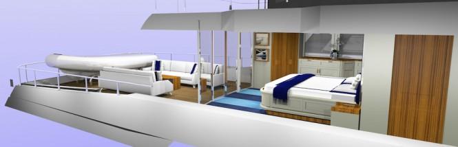 100ft motor yacht SkyMaster