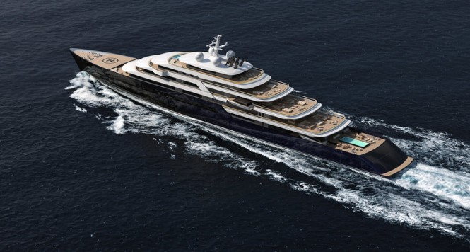 165m Nauta luxury yacht project