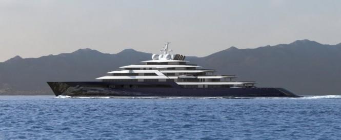 165m Nauta motor yacht project