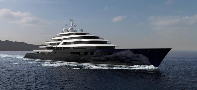 165m Nauta superyacht project