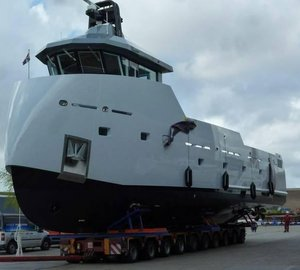FEEBE items for Heliad II and YXT Yachts by Lynx Yachts