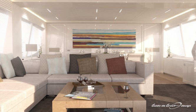 32m Mengi Yay superyacht 'Y' - Interior