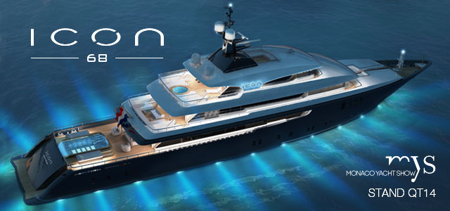 68m mega yacht ICON lengthened by ICON Yachts