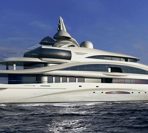 New 87m motor yacht by Gresham Yacht Design to be built by Yachtley Shipyard