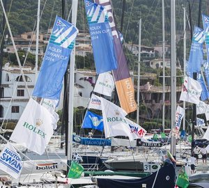 93 Sailing Yachts Getting Ready Rolex Swan Cup Starting Tomorrow