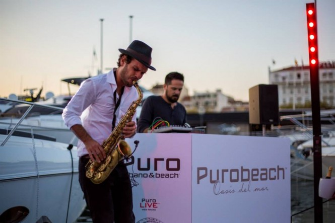 A VIP event hosted by Princess Yachts and Purobeach