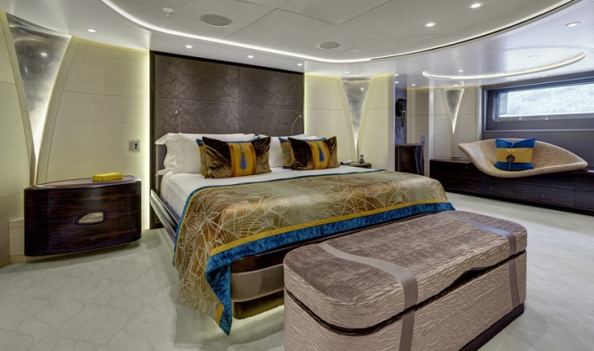 AY46 Yacht MONDANGO 3 - Master Suite Image by Chris Lewis