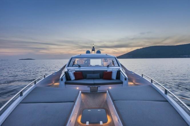 Aboard Magneto Yacht