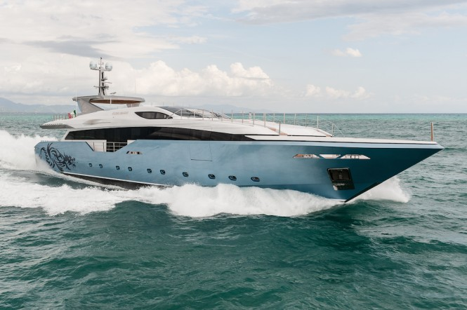 Admiral Regale 45 Motor Yacht Flying Dragon