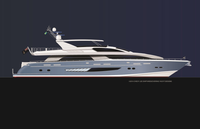 Alpha 111 Superyacht by Cheoy Lee