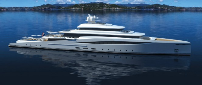 Azure super yacht Purity concept